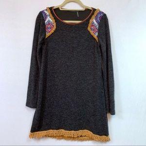 Stitch Fix THML Boho Sweater Dress Size Small
